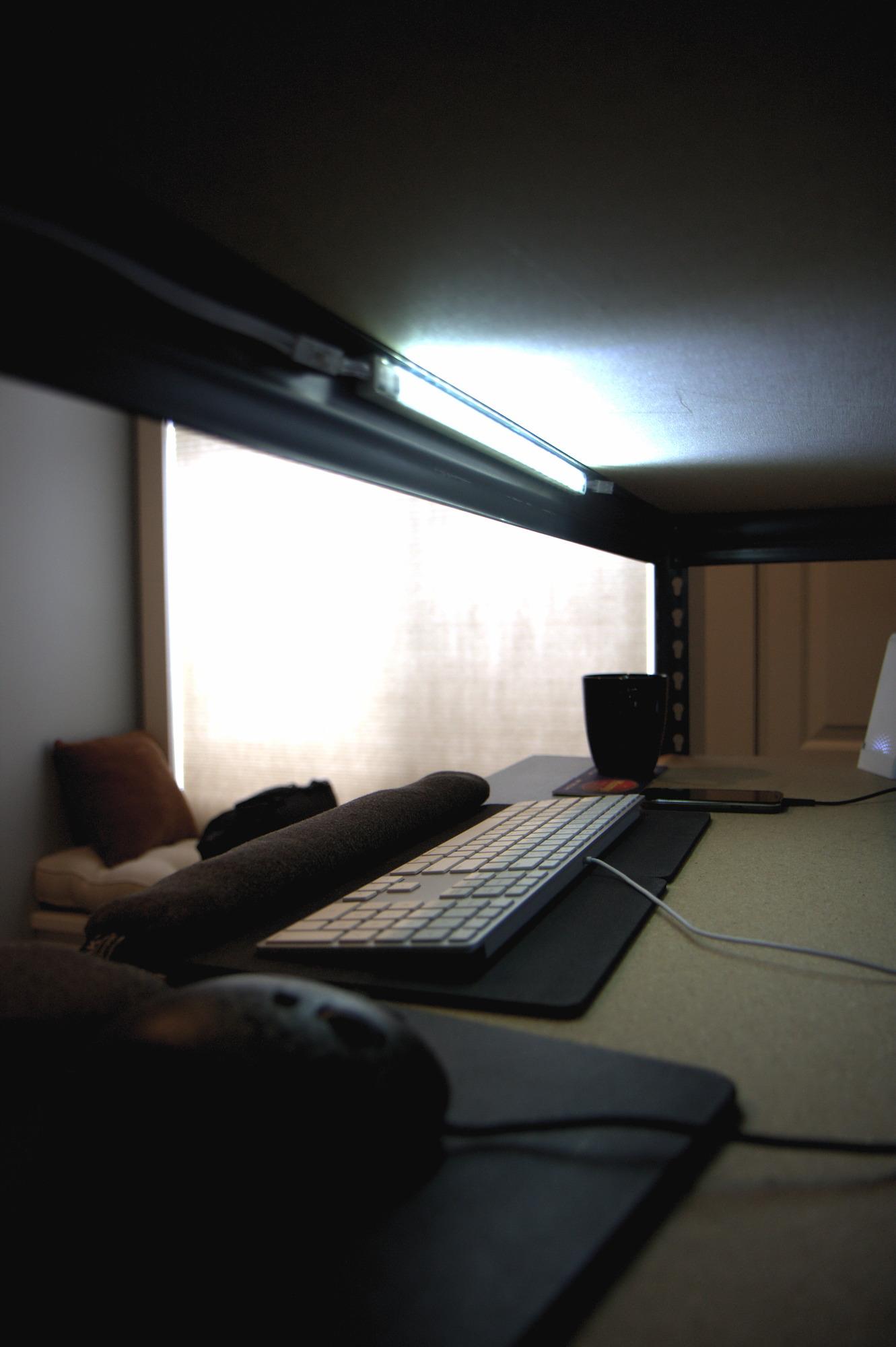 Shelf Made Standing Desk